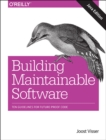 Building Mantainable Software, Java Edition - Book