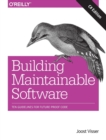 Building Maintainable Software, C# Edition - Book