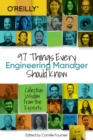 97 Things Every Engineering Manager Should Know - Book