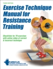 Exercise Technique Manual for Resistance Training - Book