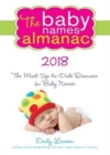 The 2018 Baby Names Almanac - Book