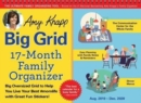 2020 Amy Knapp's Big Grid Family Organizer Wall Calendar : August 2019-december 2020 - Book