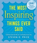The Most Inspiring Things Ever Said - eBook