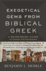 Exegetical Gems from Biblical Greek : A Refreshing Guide to Grammar and Interpretation - eBook