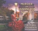 Murder on Washington Square - Book