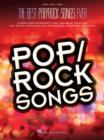 The Best Pop/Rock Songs Ever (PVG) - Book
