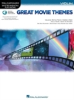 Instrumental Play-Along : Great Movie Themes - Violin (Book/Online Audio) - Book