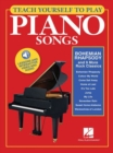 Teach Yourself To Play Piano Songs : Bohemian Rhapsody And 9 More Rock Classics (Book/Online Media) - Book