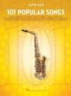101 Popular Songs - Alto Saxophone - Book
