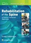 Rehabilitation of the Spine: A Patient-Centered Approach - Book