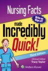 Nursing Facts Made Incredibly Quick - Book