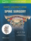 Emory's Illustrated Tips and Tricks in Spine Surgery - Book