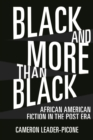 Black and More than Black : African American Fiction in the Post Era - eBook