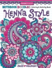 Notebook Doodles Henna Style : Coloring & Activity Book - Book