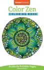 Color Zen Coloring Book : Perfectly Portable Pages - Book