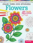 Color Your Own Stickers Flowers - Book