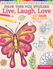 Color Your Own Stickers Live, Laugh, Love - Book