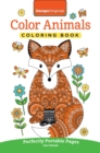 Color Animals Coloring Book : Perfectly Portable Pages - Book