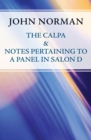 The Calpa & Notes Pertaining to a Panel in Salon D - eBook