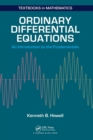 Ordinary Differential Equations : An Introduction to the Fundamentals - Book