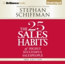 The 25 Sales Habits of Highly Successful Salespeople - eAudiobook