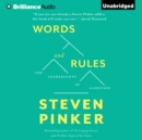 Words and Rules : The Ingredients Of Language - eAudiobook
