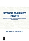 Stock Market Math : Essential formulas for selecting and managing stock and risk - eBook