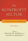 The Nonprofit Sector : A Research Handbook, Third Edition - Book