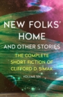 New Folks' Home : And Other Stories - eBook