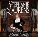 A Match for Marcus Cynster - eAudiobook
