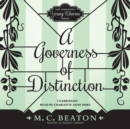 A Governess of Distinction - eAudiobook