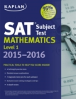 Kaplan SAT Subject Test Mathematics Level 1 2015-2016 - eBook