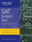 SAT Subject Test Mathematics Level 1 - eBook