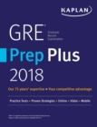 GRE Prep Plus 2018 : Practice Tests + Proven Strategies + Online + Video + Mobile - eBook