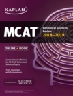MCAT Behavioral Sciences Review 2018-2019 : Online + Book - eBook