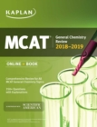 MCAT General Chemistry Review 2018-2019 : Online + Book - eBook