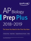 AP Biology Prep Plus 2018-2019 : 2 Practice Tests + Study Plans + Targeted Review & Practice + Online - eBook