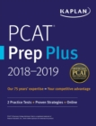 PCAT Prep Plus 2018-2019 : 2 Practice Tests + Proven Strategies + Online - eBook