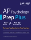 AP Psychology Prep Plus 2019-2020 : 3 Practice Tests + Study Plans + Targeted Review & Practice + Online - eBook