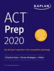 ACT Prep 2020 : 3 Practice Tests + Proven Strategies + Online - eBook