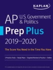 AP U.S. Government & Politics Prep Plus 2019-2020 : 3 Practice Tests + Study Plans + Targeted Review & Practice + Online - eBook