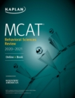 MCAT Behavioral Sciences Review 2020-2021 : Online + Book - eBook