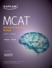 MCAT Behavioral Sciences Review 2021-2022 : Online + Book - eBook