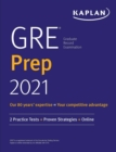 GRE Prep 2021 : 2 Practice Tests + Proven Strategies + Online - eBook