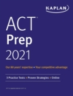 ACT Prep 2021 : 3 Practice Tests + Proven Strategies + Online - eBook