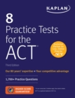 8 Practice Tests for the ACT : 1,700+ Practice Questions - eBook