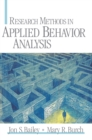 Research Methods in Applied Behavior Analysis - eBook
