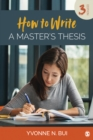 How to Write a Master's Thesis - eBook