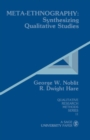 Meta-Ethnography : Synthesizing Qualitative Studies - eBook