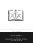 Duncan's Masonic Ritual and Monitor - eBook